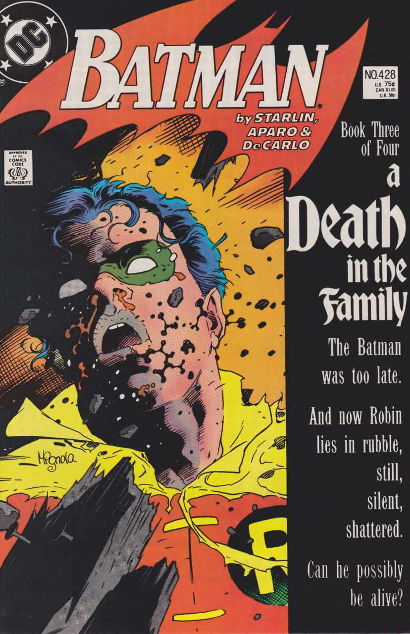 Images of Batman: A Death In The Family | 828x1280