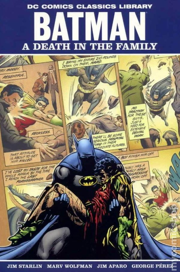 Images of Batman: A Death In The Family | 600x907