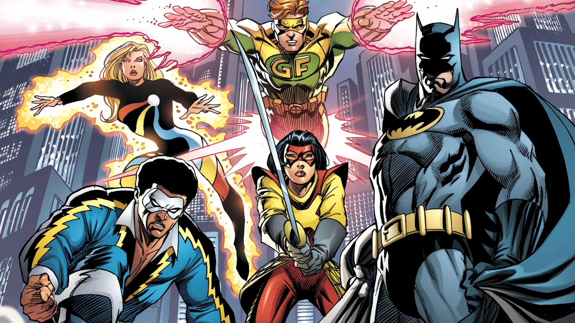 Nice wallpapers Batman And The Outsiders 1920x1080px