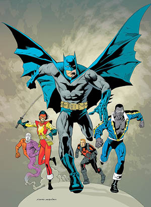 Nice wallpapers Batman And The Outsiders 300x409px