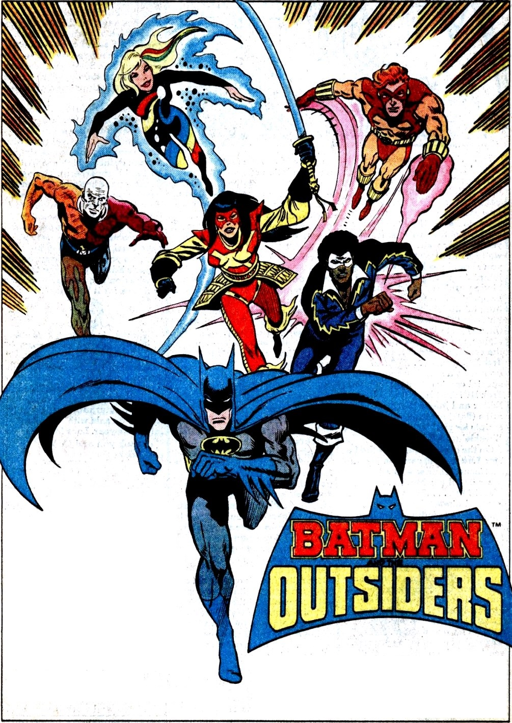 1005x1419 > Batman And The Outsiders Wallpapers