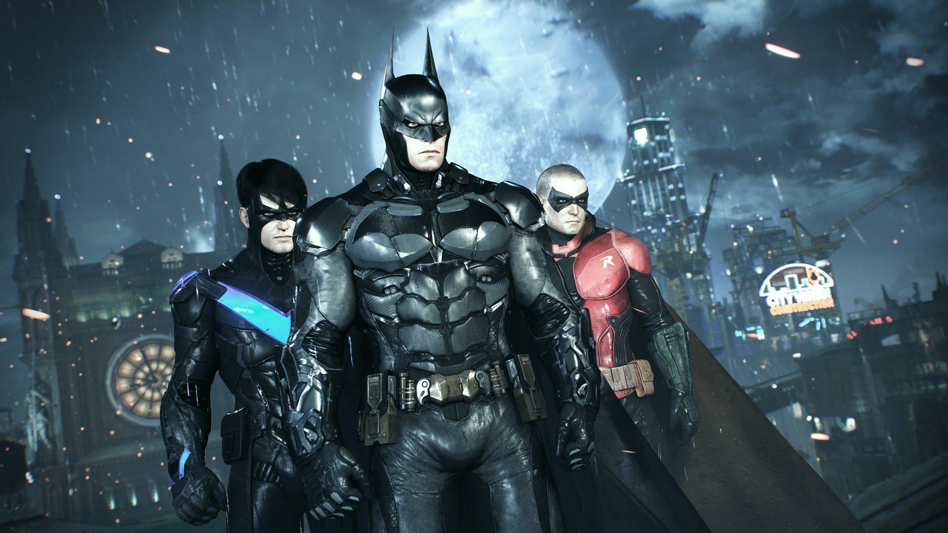 Batman: Arkham Knight Backgrounds on Wallpapers Vista