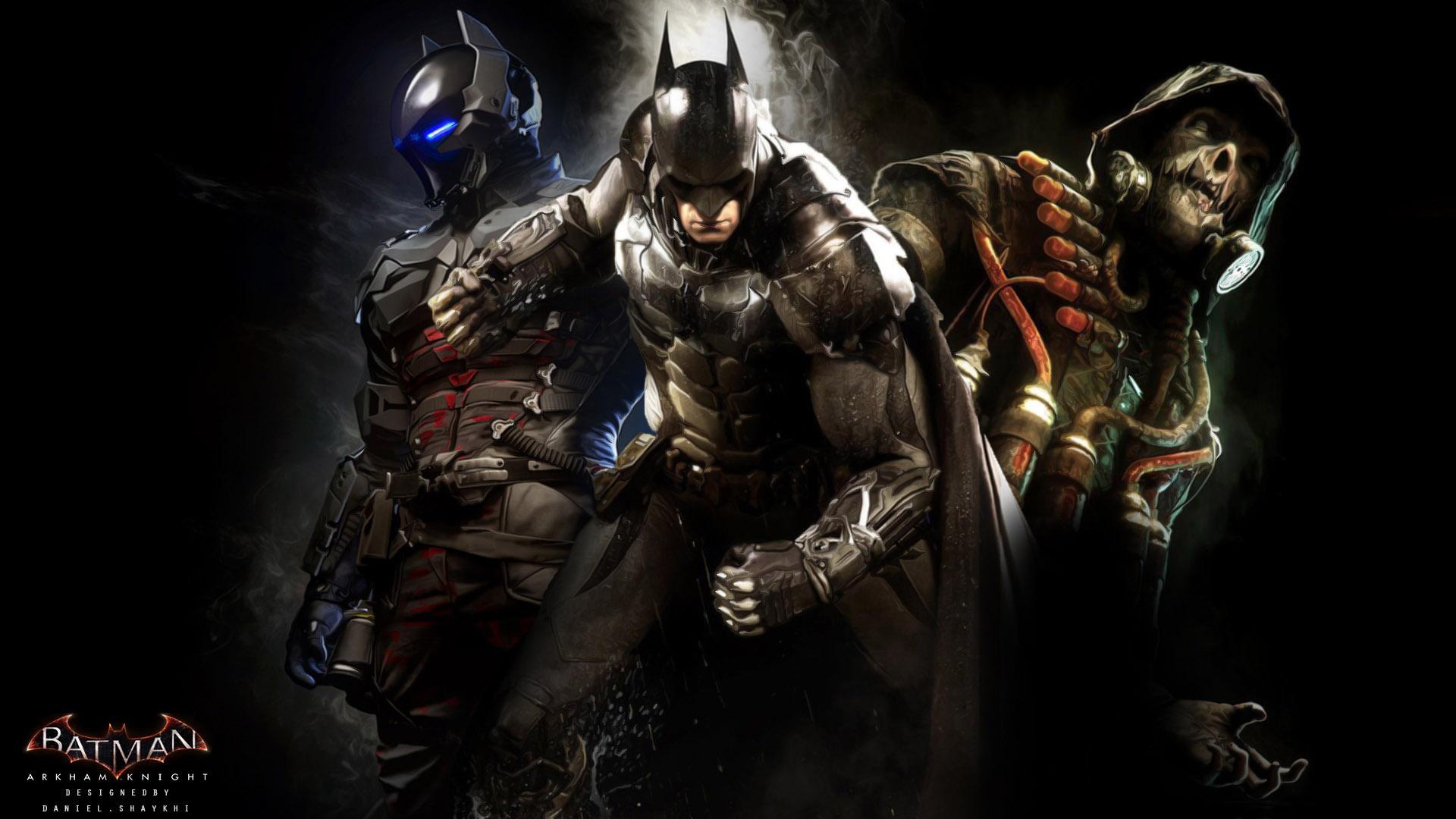 Batman: Arkham Knight Pics, Comics Collection
