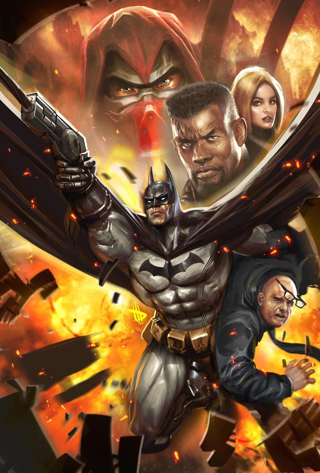 Nice Images Collection: Batman: Arkham Unhinged Desktop Wallpapers