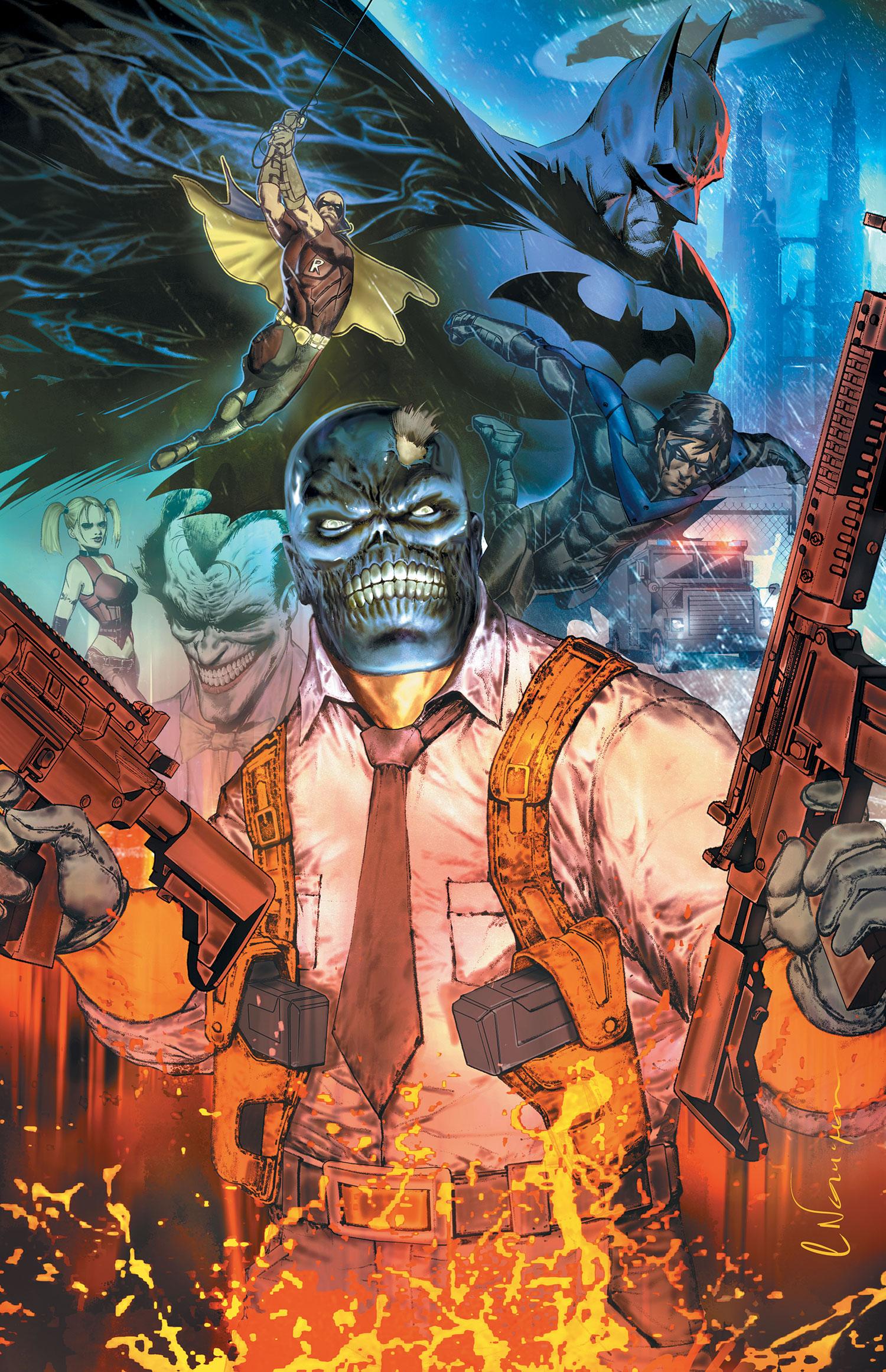 Batman: Arkham Unhinged Pics, Comics Collection