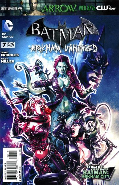 Batman: Arkham Unhinged Backgrounds, Compatible - PC, Mobile, Gadgets| 400x618 px