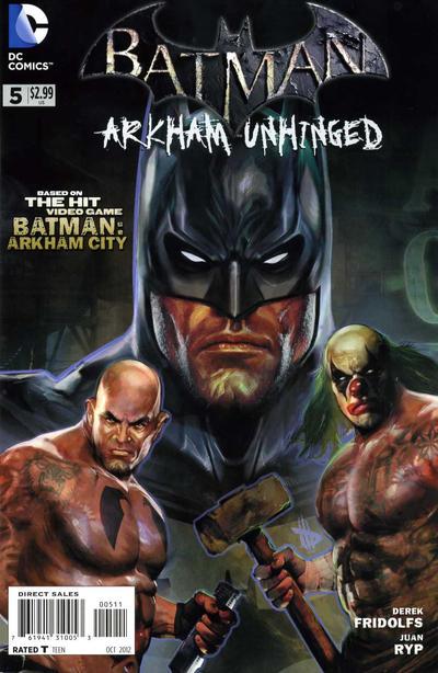HD Quality Wallpaper | Collection: Comics, 400x614 Batman: Arkham Unhinged