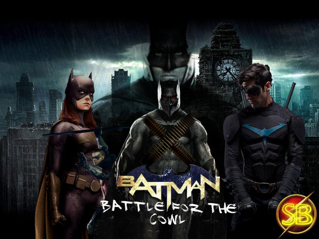 HD Quality Wallpaper | Collection: Comics, 1024x768 Batman: Battle For The Cowl