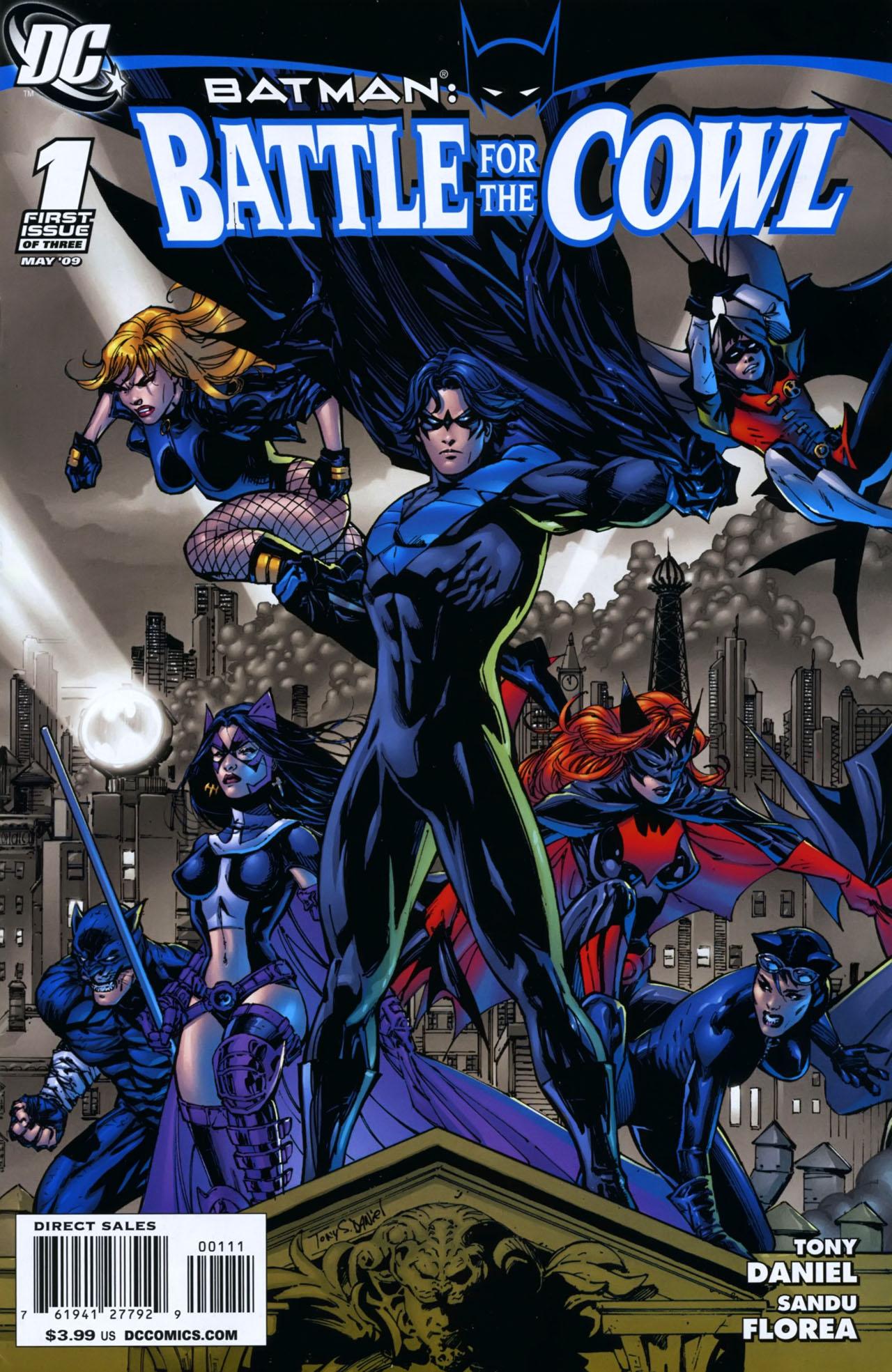 HQ Batman: Battle For The Cowl Wallpapers | File 516.76Kb