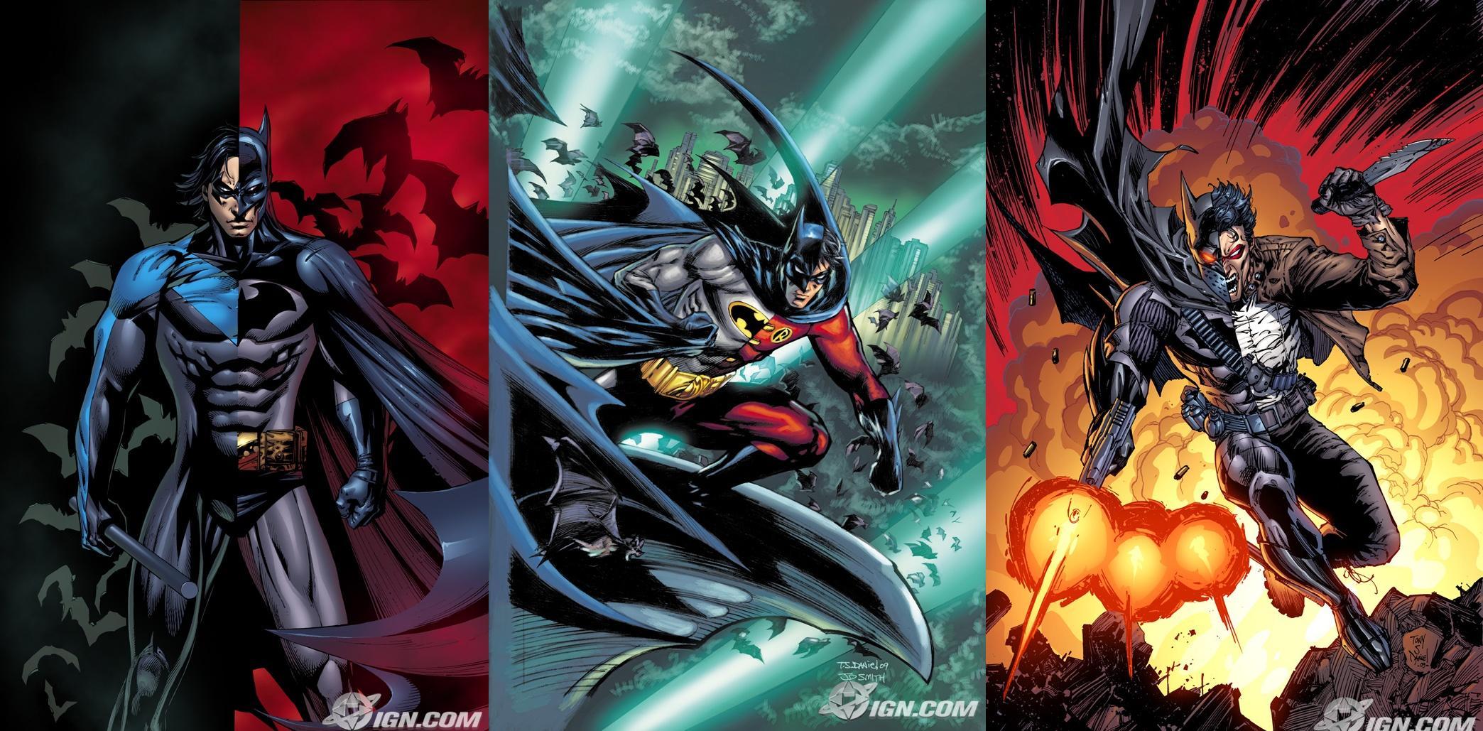 HD Quality Wallpaper | Collection: Comics, 2088x1029 Batman: Battle For The Cowl