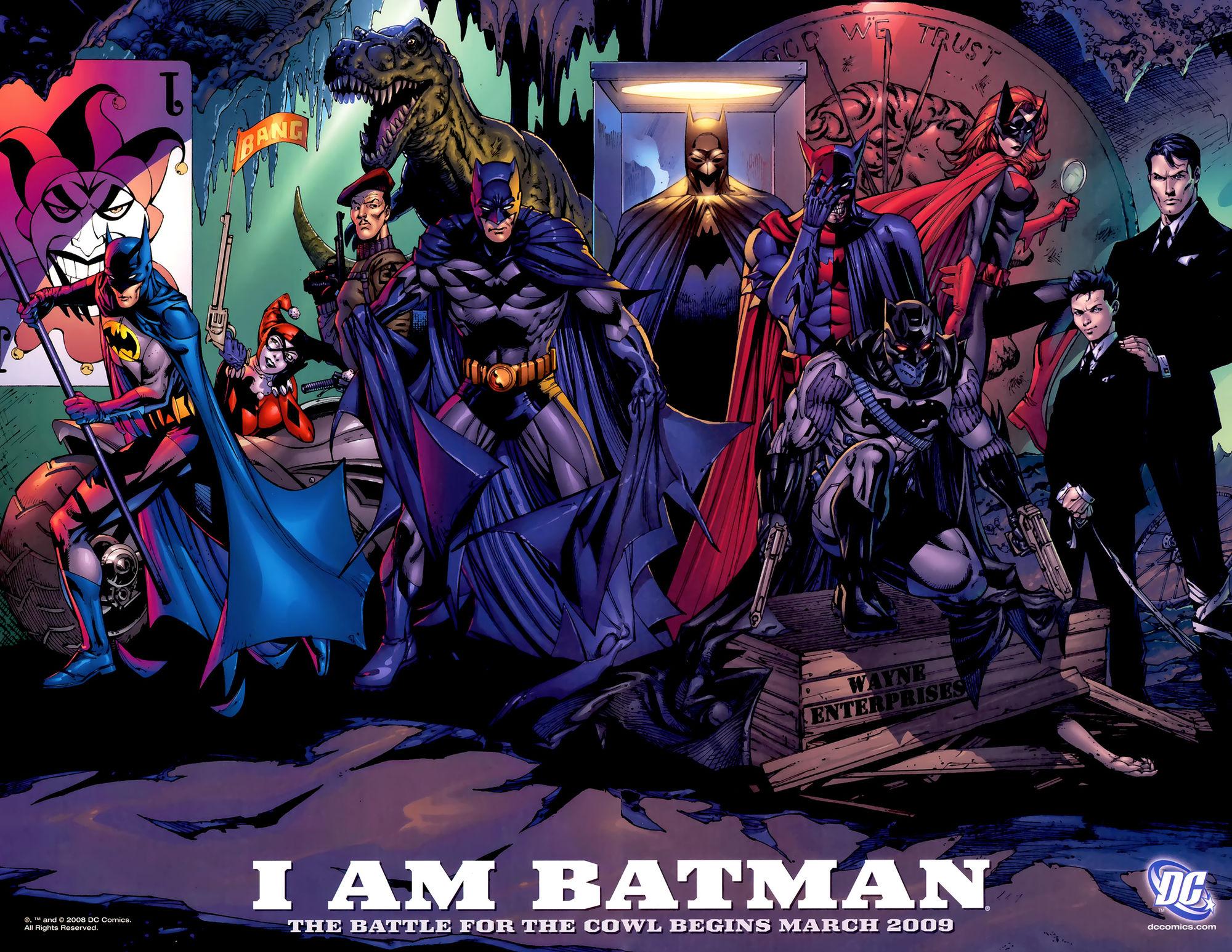 High Resolution Wallpaper | Batman: Battle For The Cowl 2000x1546 px
