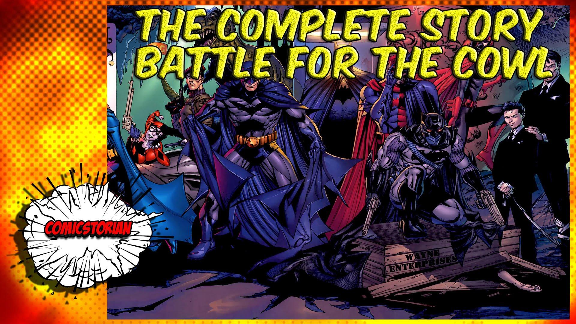 Nice Images Collection: Batman: Battle For The Cowl Desktop Wallpapers