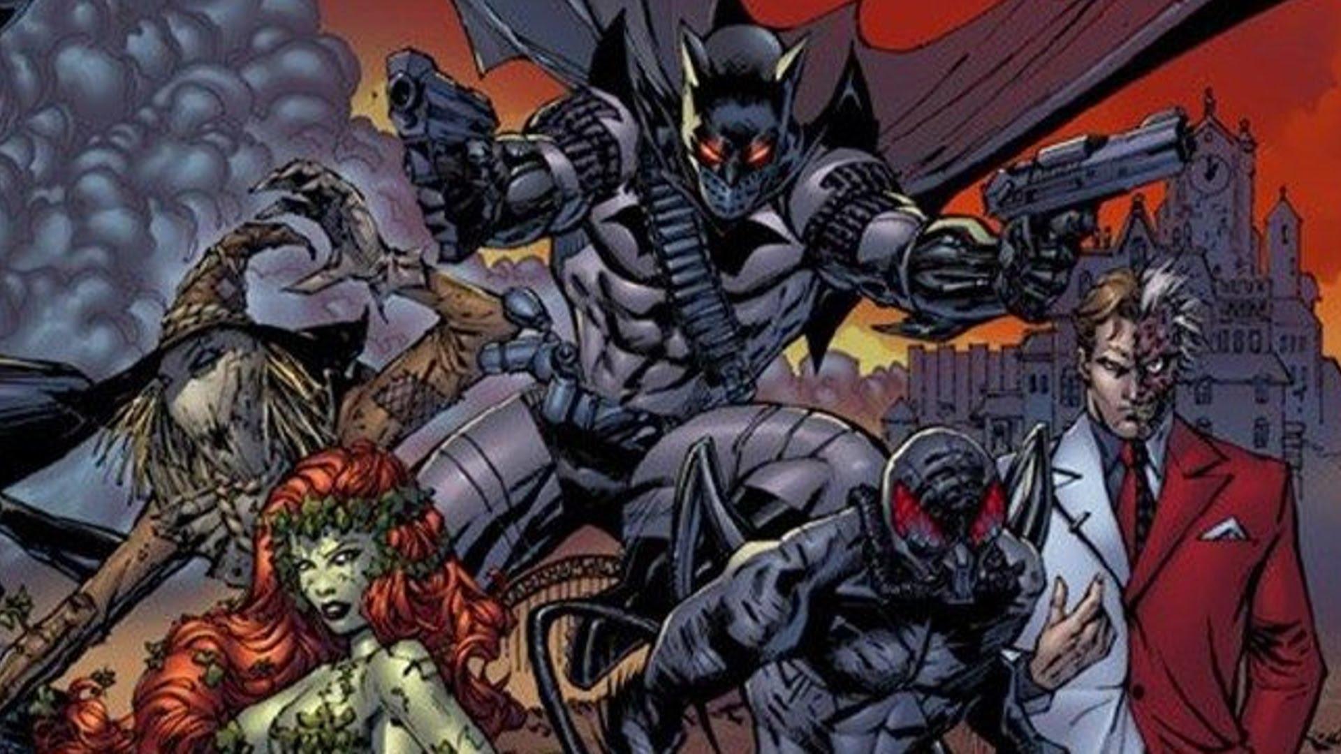 HD Quality Wallpaper | Collection: Comics, 1920x1080 Batman: Battle For The Cowl