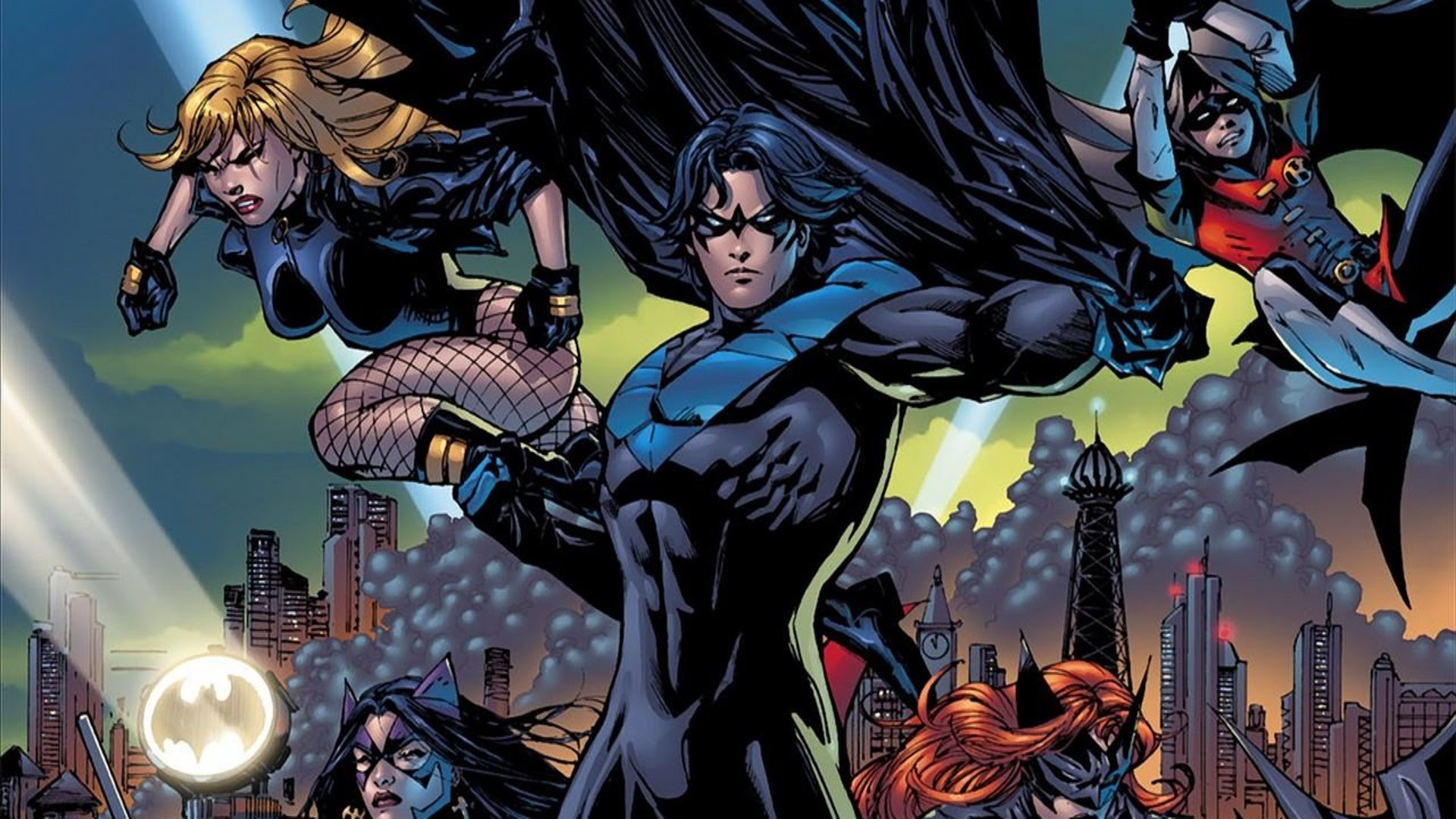 1920x1080 > Batman: Battle For The Cowl Wallpapers