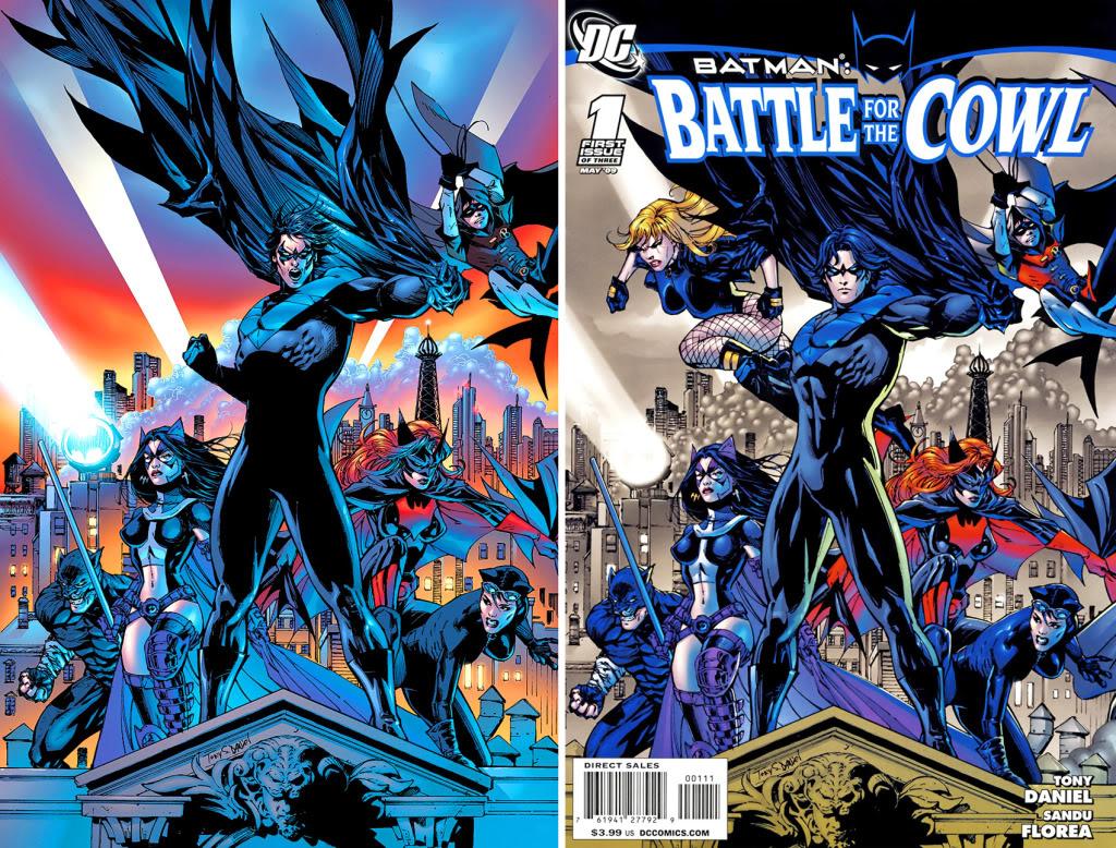 High Resolution Wallpaper | Batman: Battle For The Cowl 1024x778 px