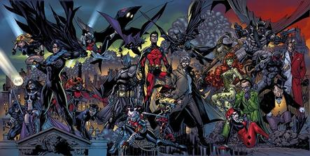 Nice wallpapers Batman: Battle For The Cowl 443x224px