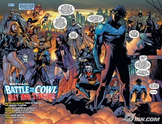 320x246 > Batman: Battle For The Cowl Wallpapers