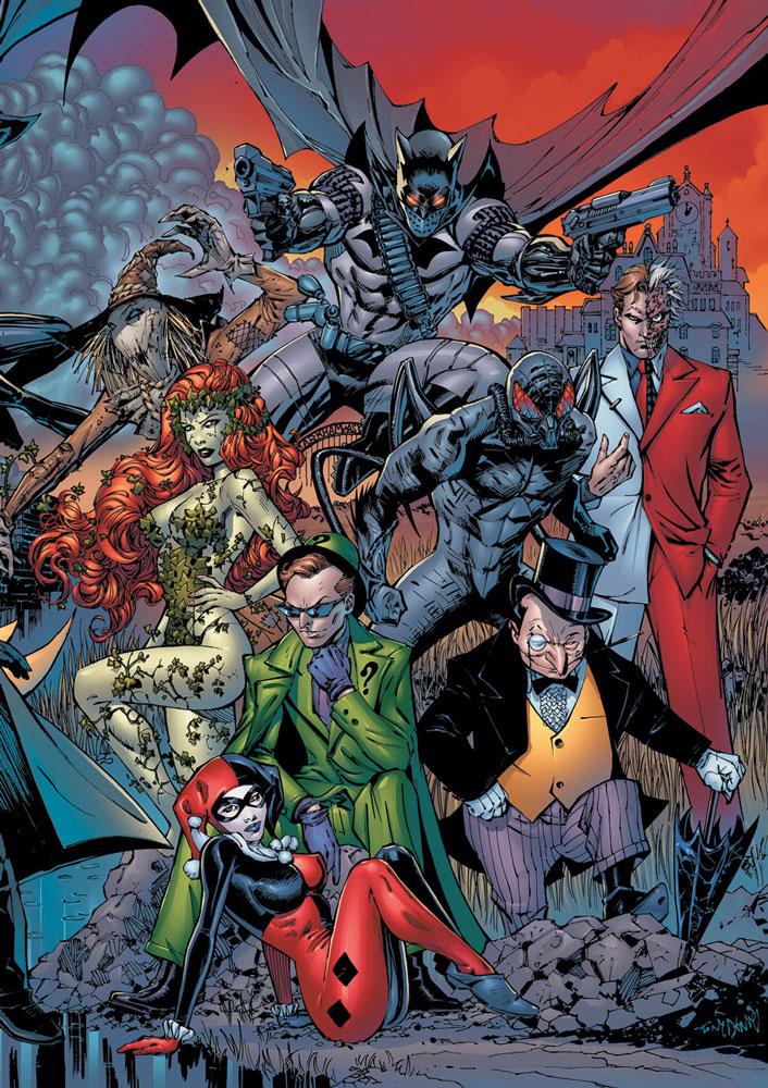 HQ Batman: Battle For The Cowl Wallpapers | File 289.68Kb