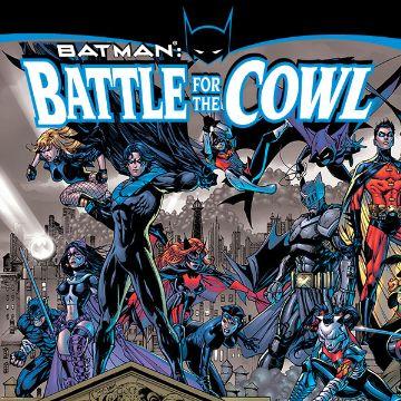 Batman: Battle For The Cowl Pics, Comics Collection
