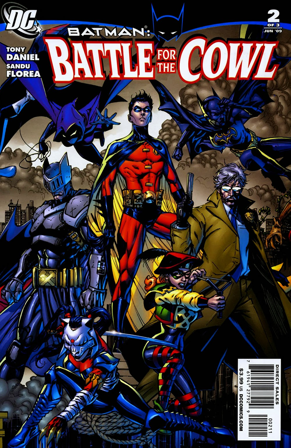 Batman: Battle For The Cowl Backgrounds on Wallpapers Vista