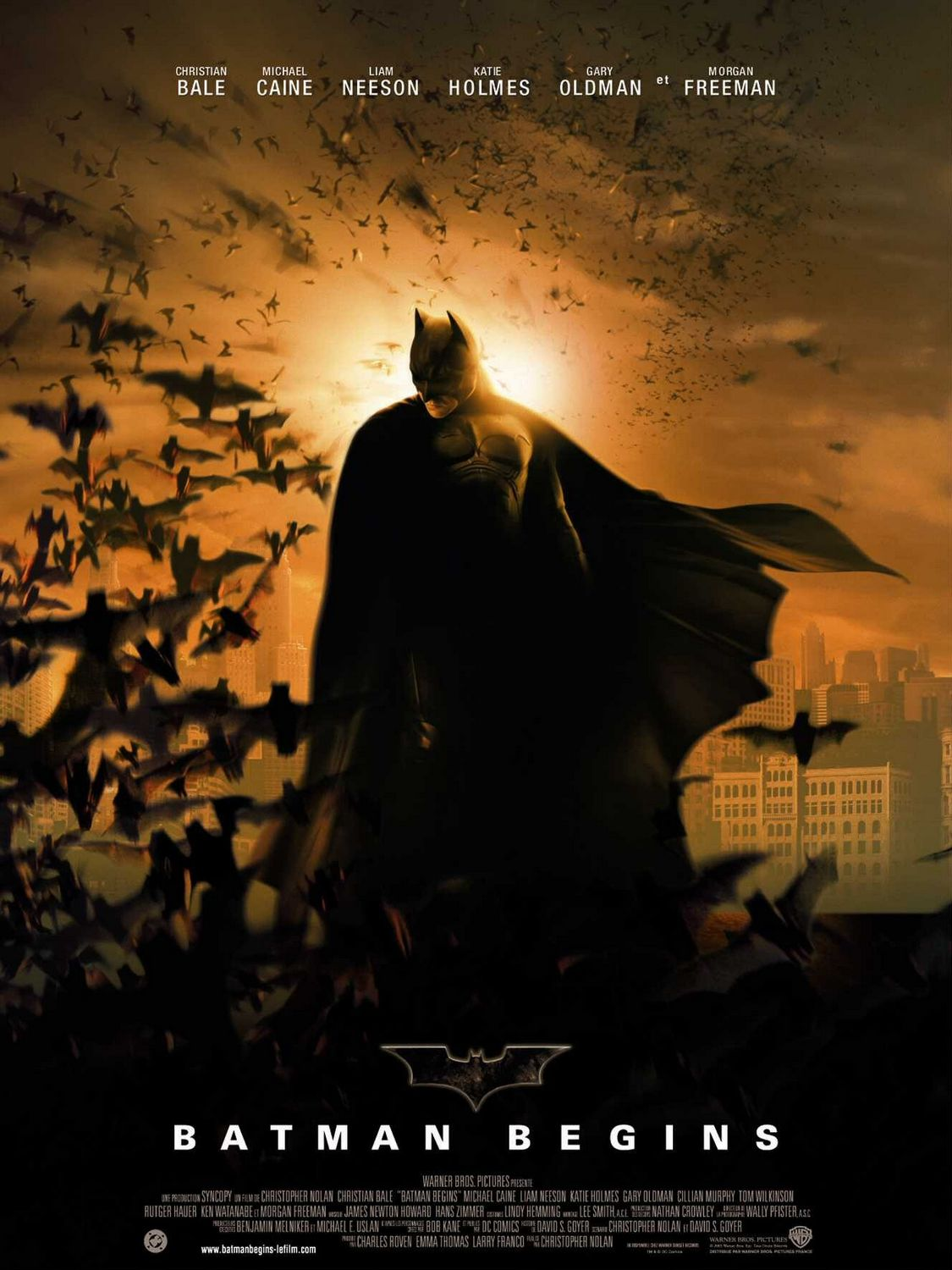 Nice Images Collection: Batman Begins Desktop Wallpapers