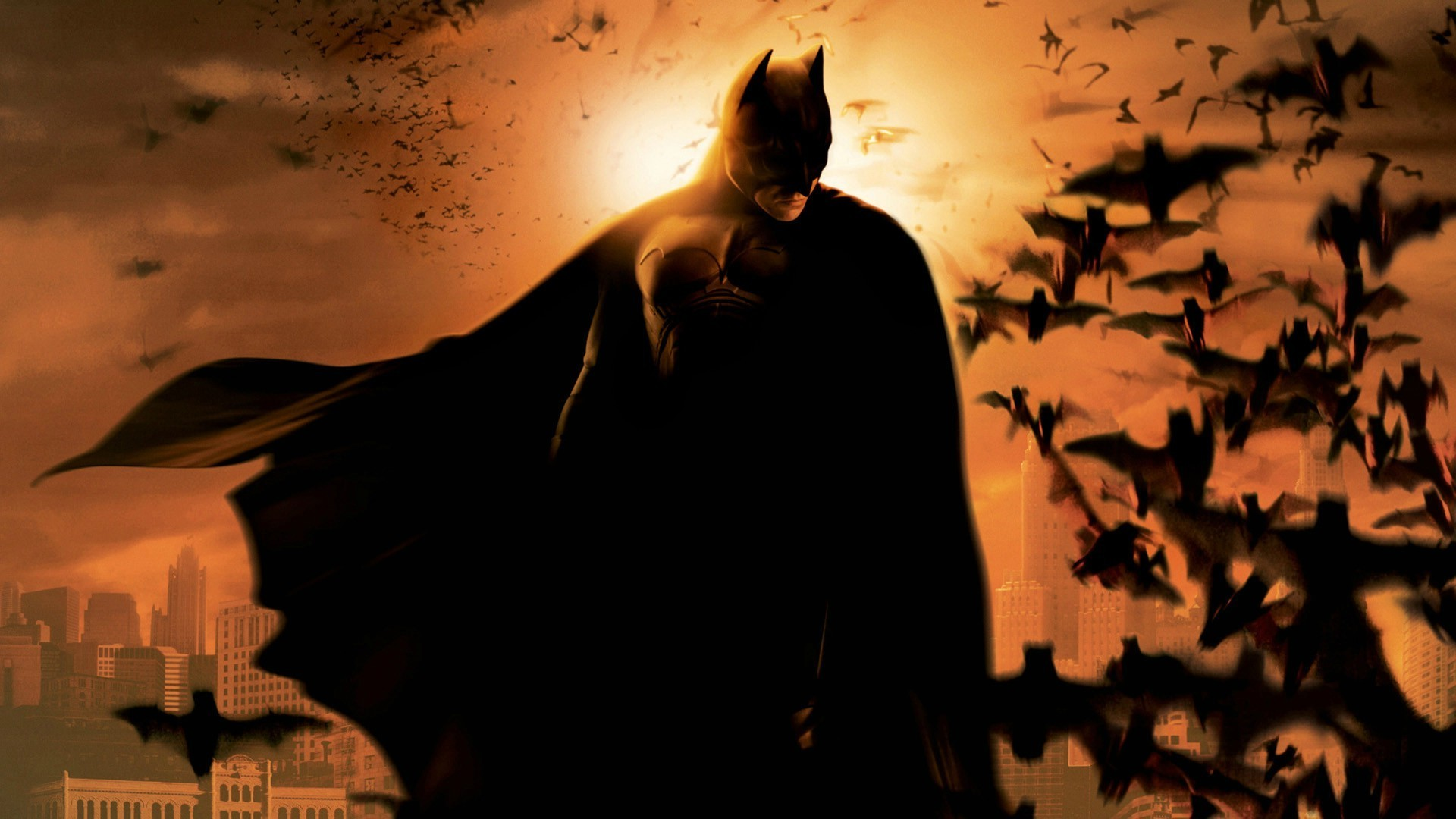 Nice wallpapers Batman Begins 1920x1080px