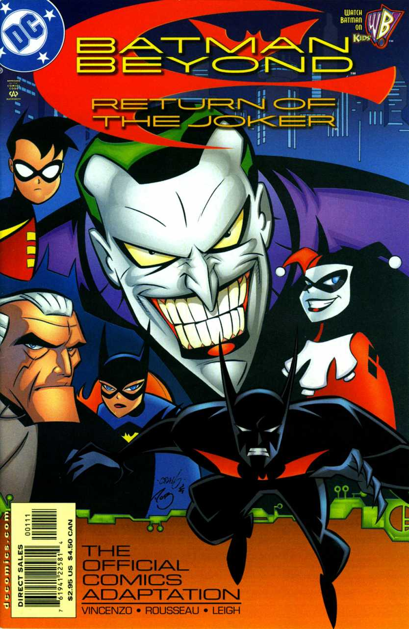 Amazing Batman Beyond: Return Of The Joker Pictures & Backgrounds