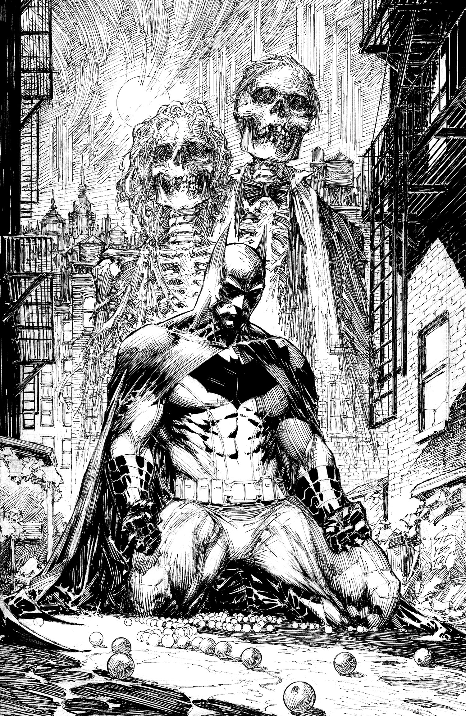 1500x2307 > Batman Black And White Wallpapers