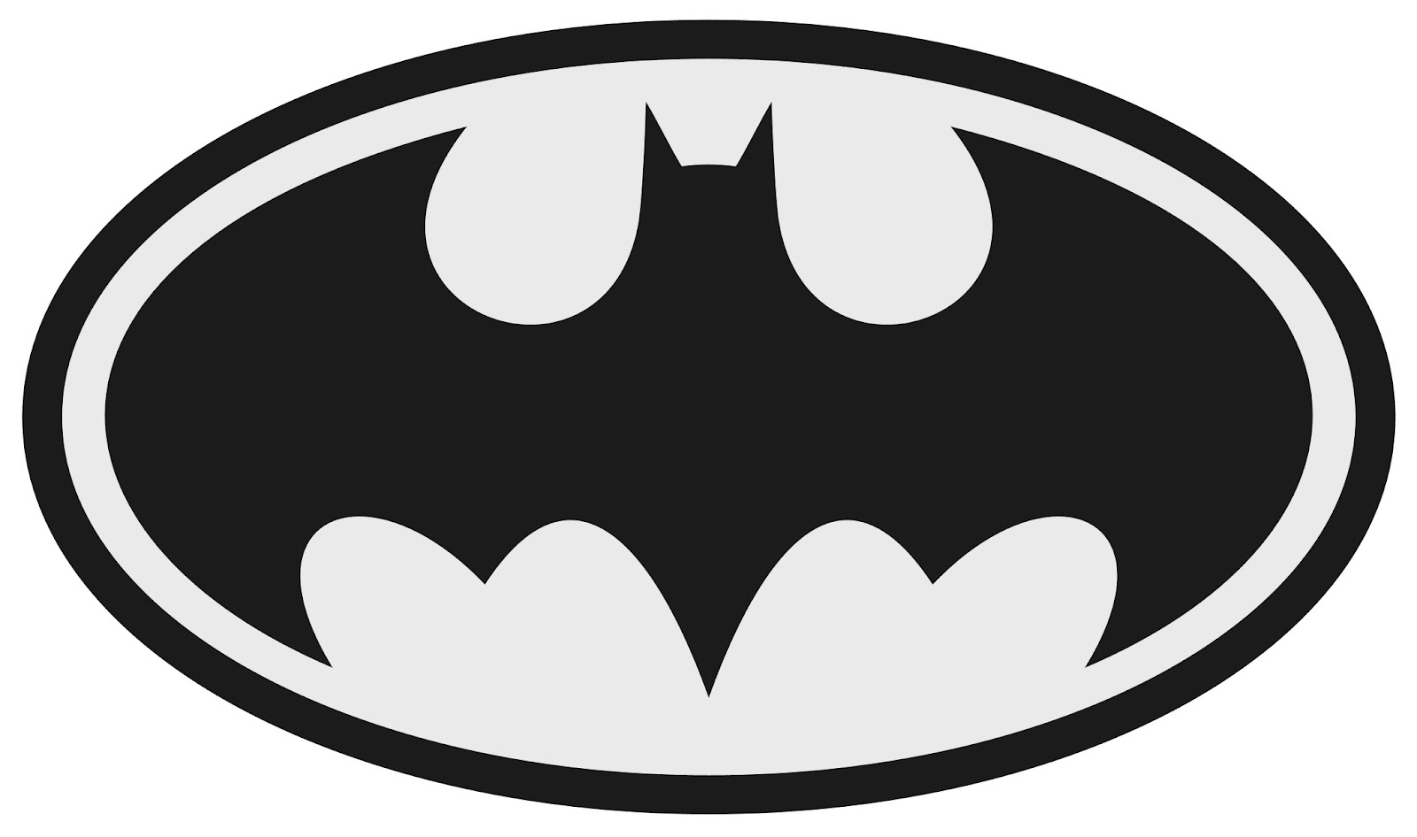 High Resolution Wallpaper | Batman Black And White 1600x946 px