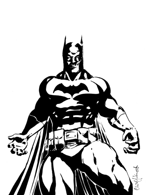 Batman Black And White High Quality Background on Wallpapers Vista