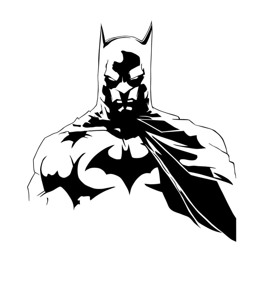 Batman Black And White Backgrounds, Compatible - PC, Mobile, Gadgets| 861x929 px