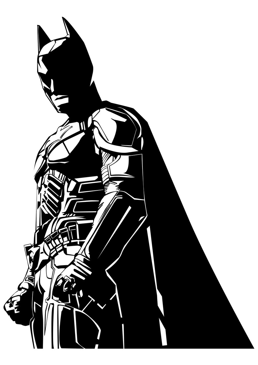 Batman Black And White Backgrounds on Wallpapers Vista