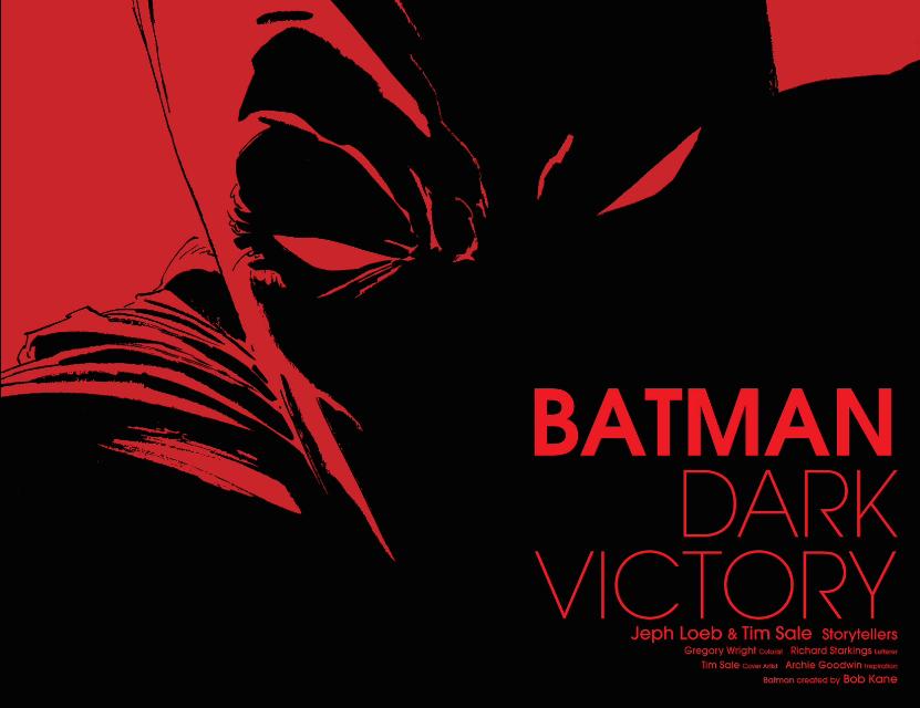 Nice Images Collection: Batman: Dark Victory Desktop Wallpapers