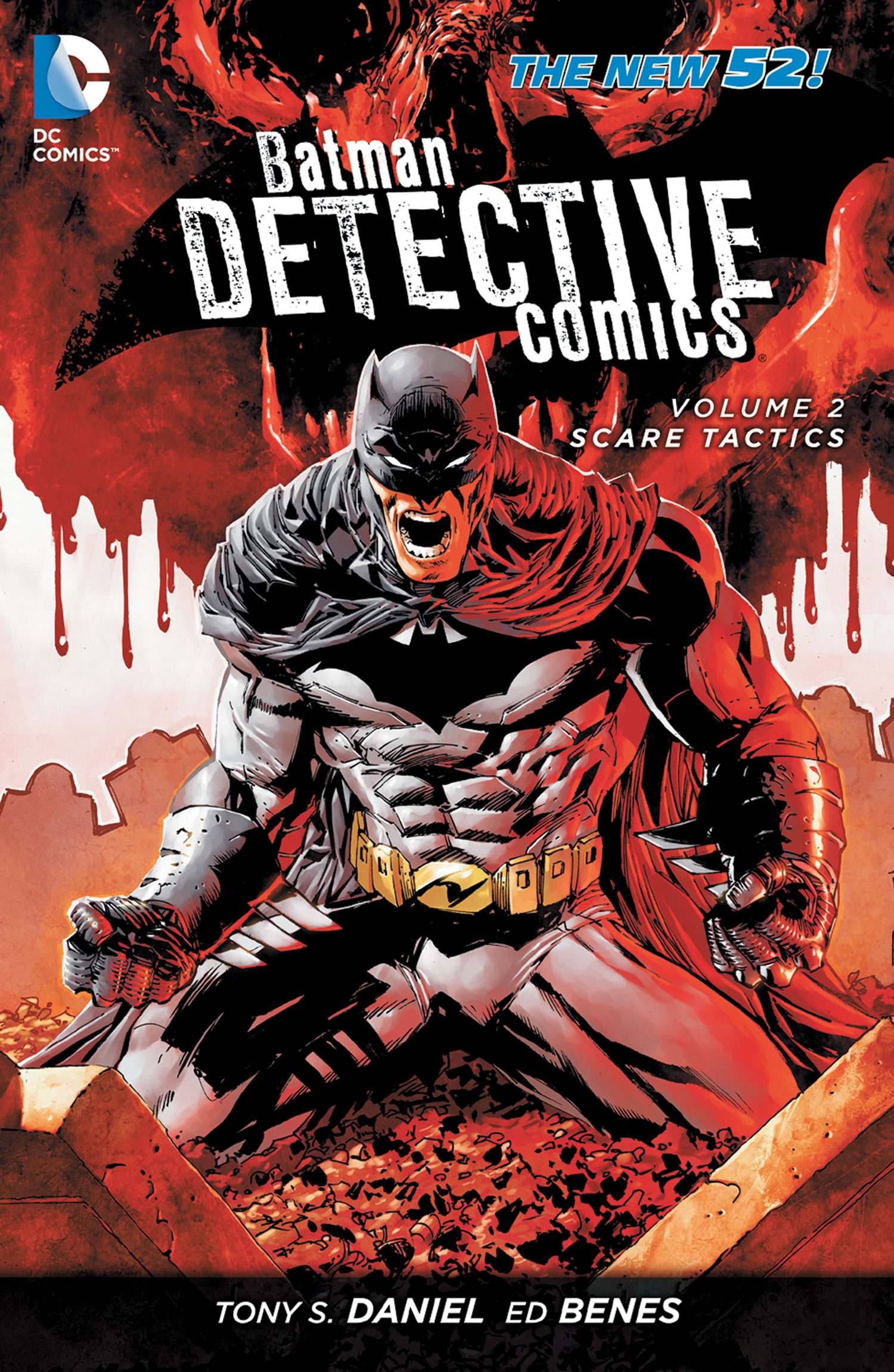 Nice wallpapers Batman: Detective Comics 1500x2303px