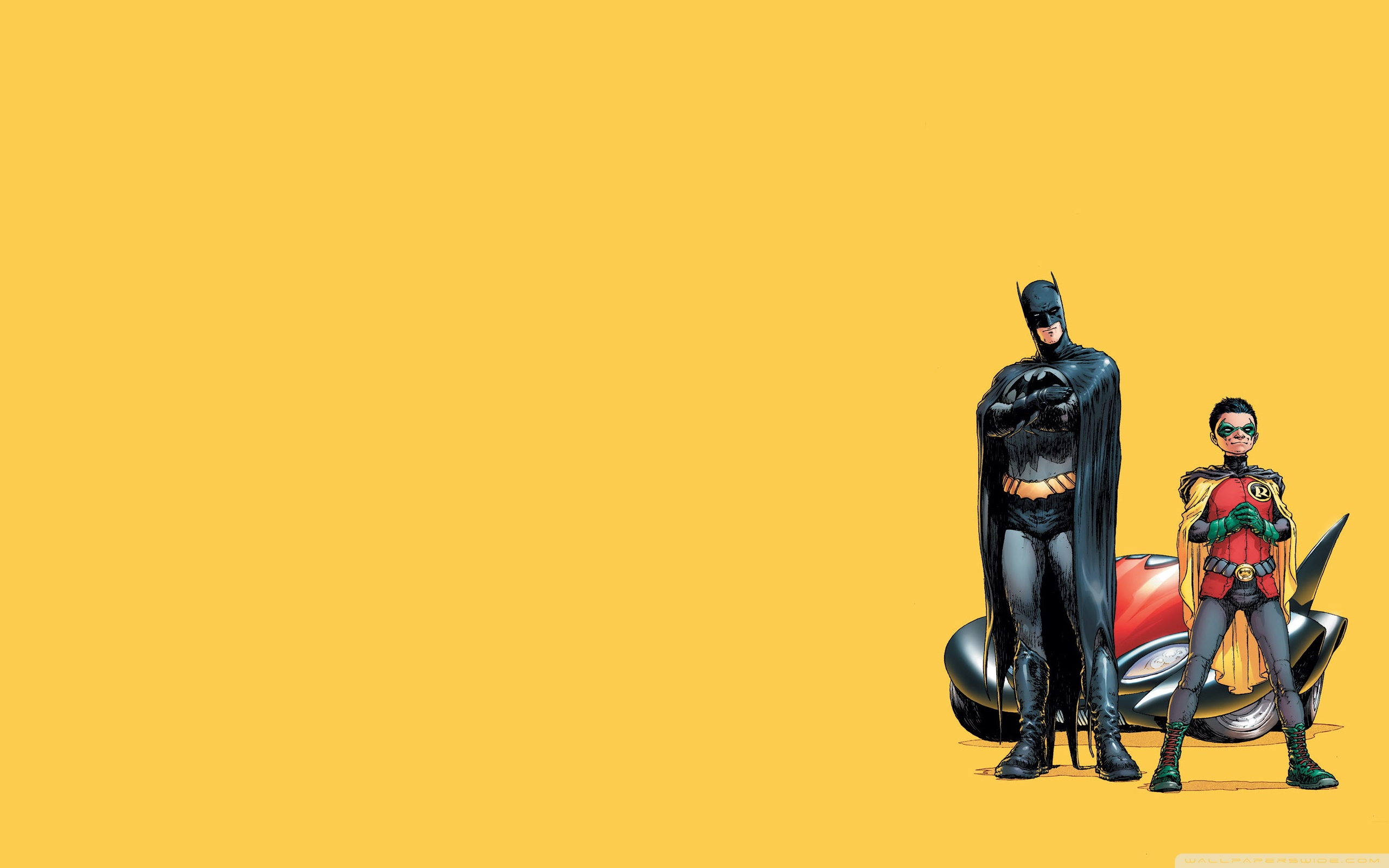 Nice Images Collection: Batman & Robin Desktop Wallpapers