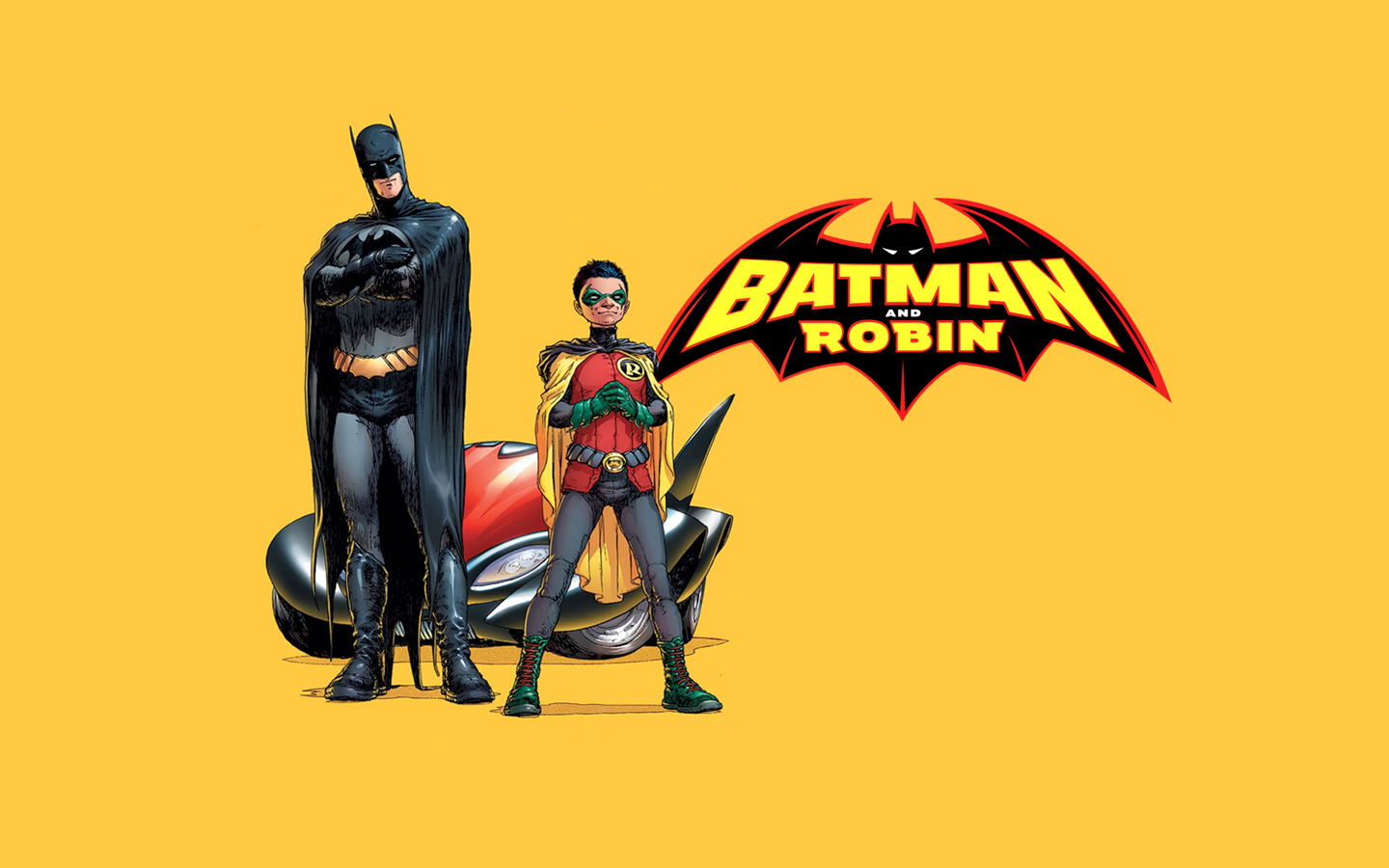 1440x900 > Batman & Robin Wallpapers