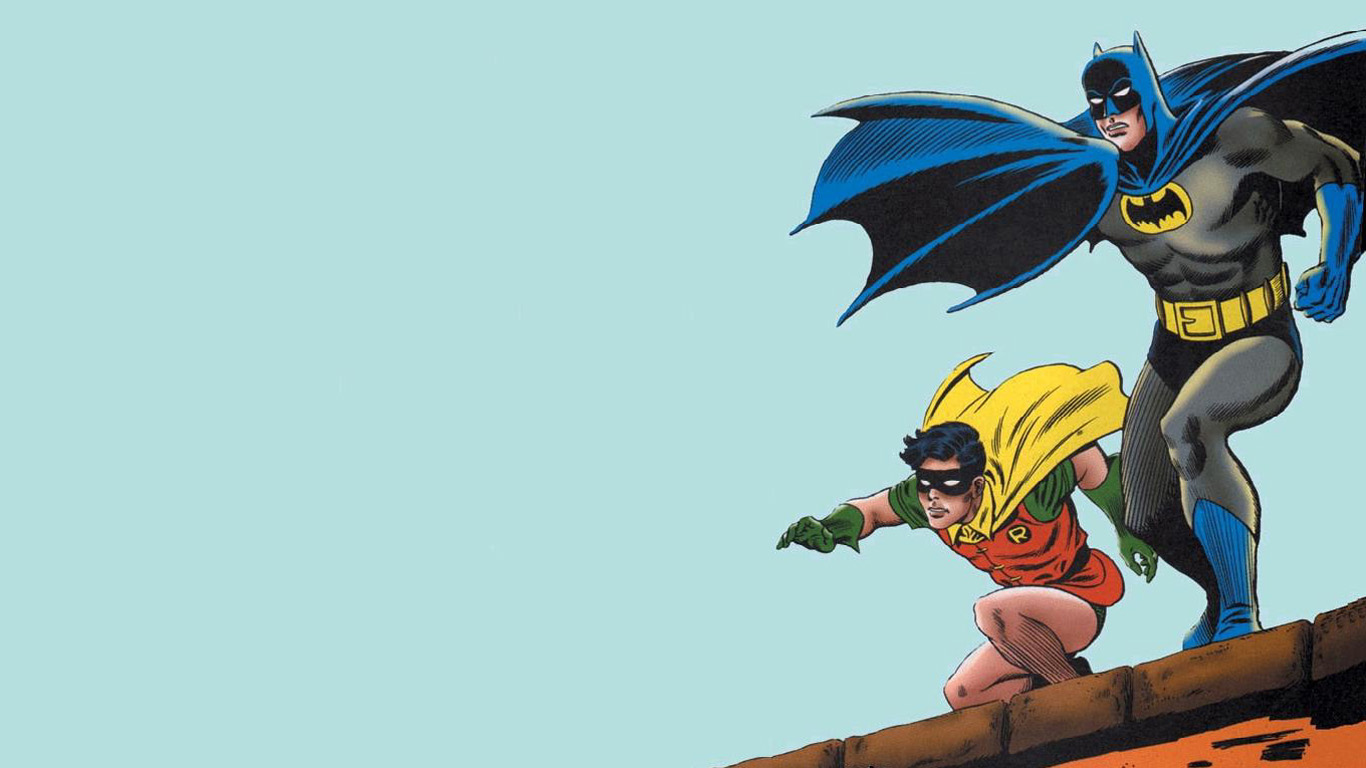 1366x768 > Batman & Robin Wallpapers
