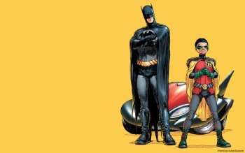 Nice wallpapers Batman & Robin 350x219px