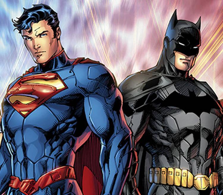 Nice wallpapers Batman Superman 750x656px