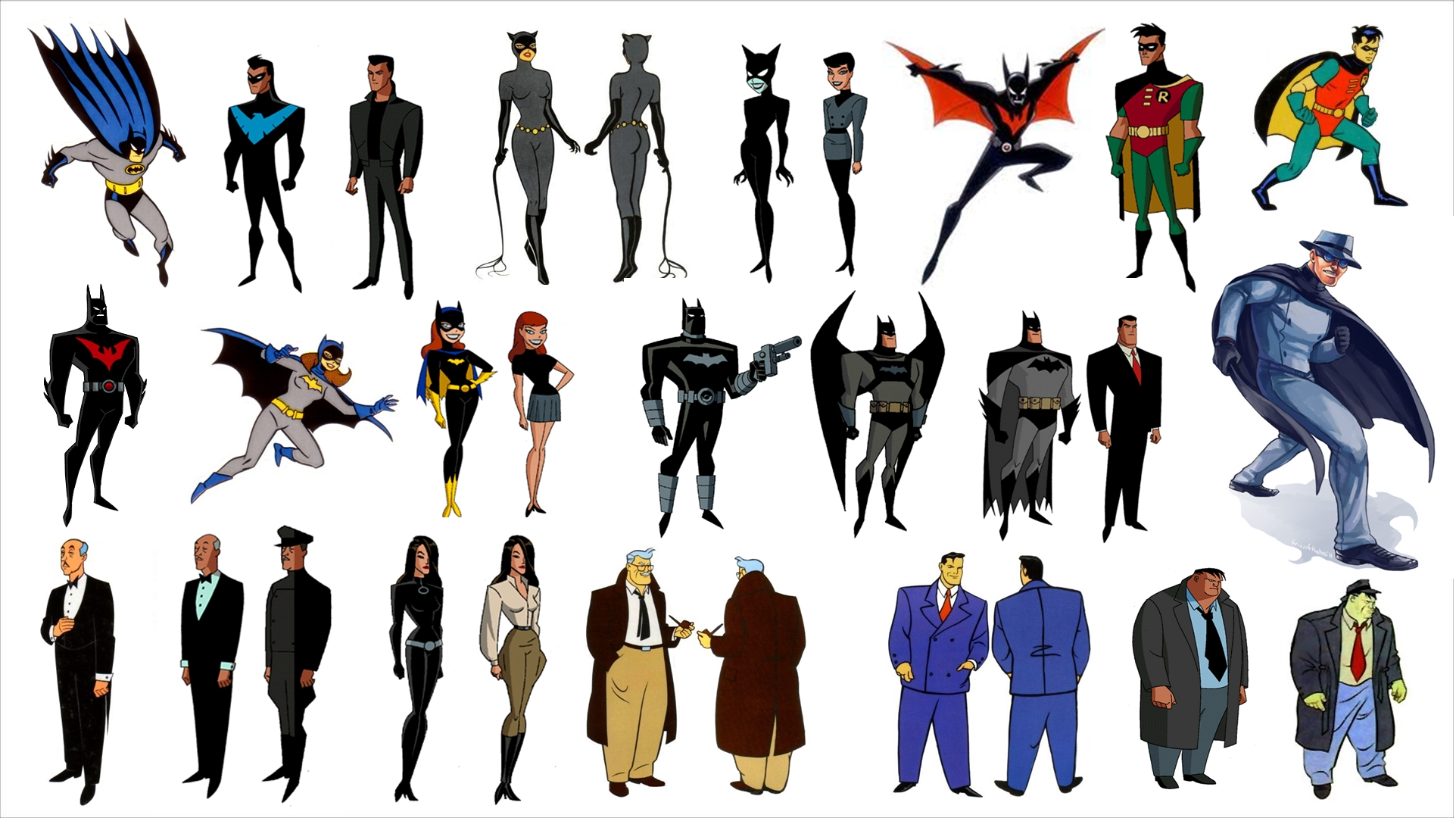 1923x1080 > Batman: The Animated Series Wallpapers