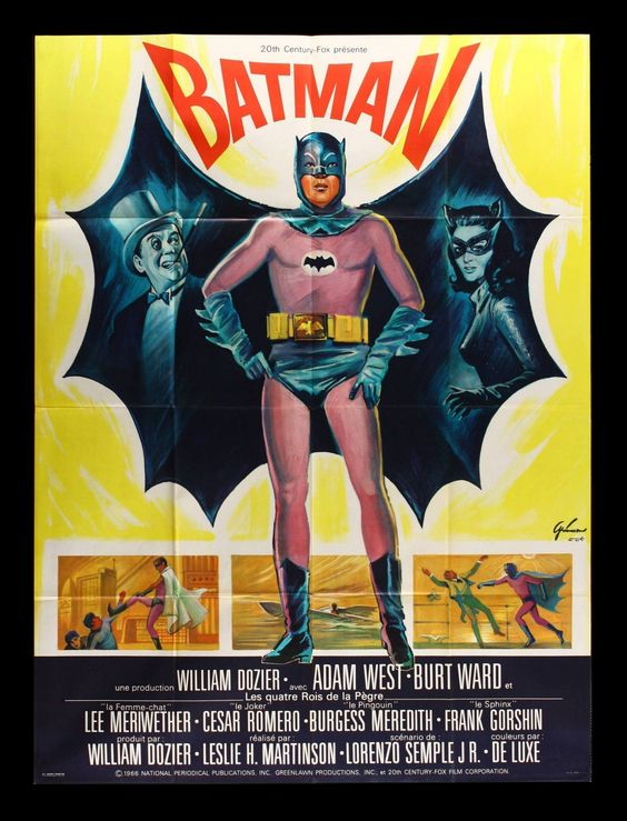 Batman: The Movie Pics, Movie Collection