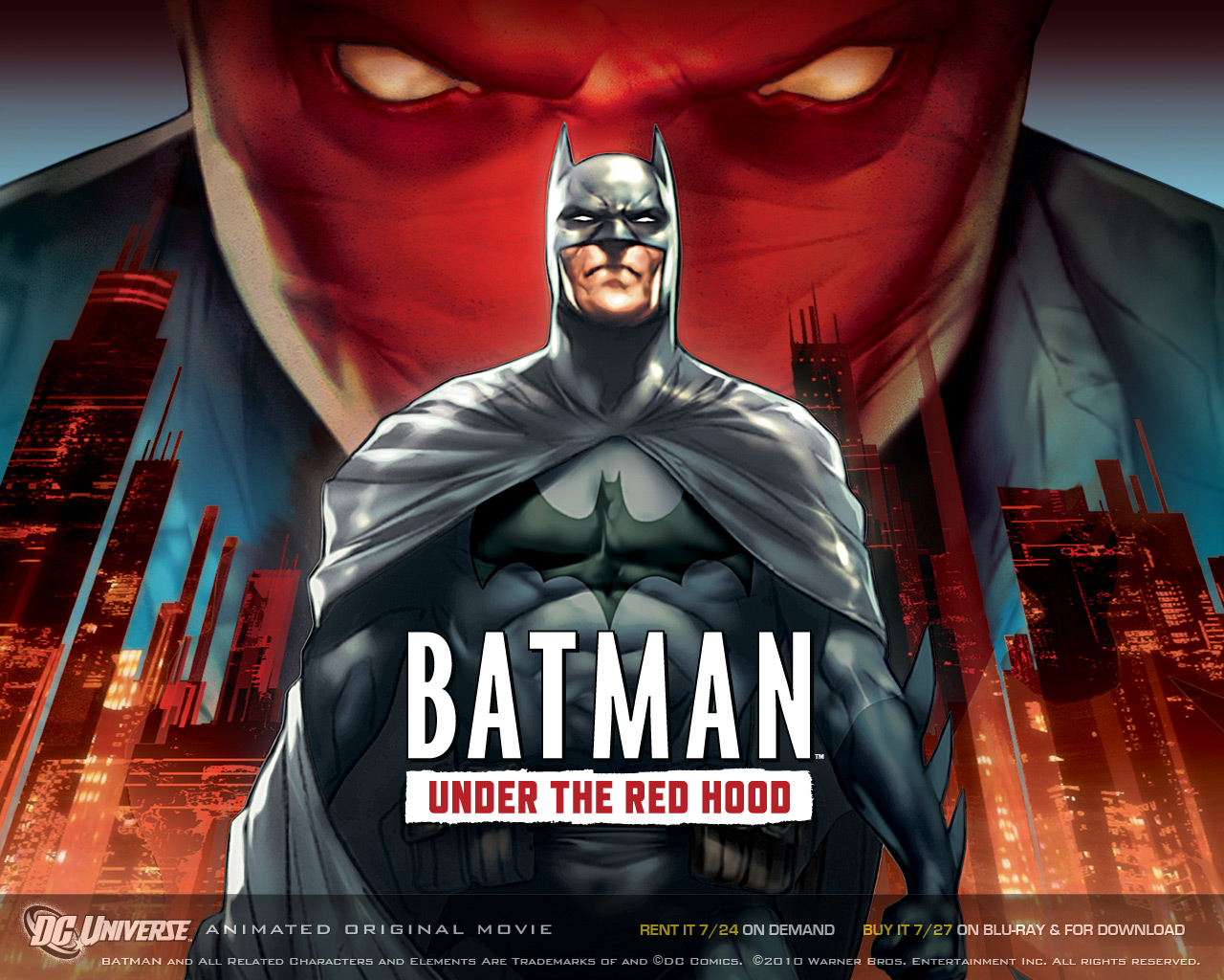 Nice Images Collection: Batman: Under The Red Hood Desktop Wallpapers