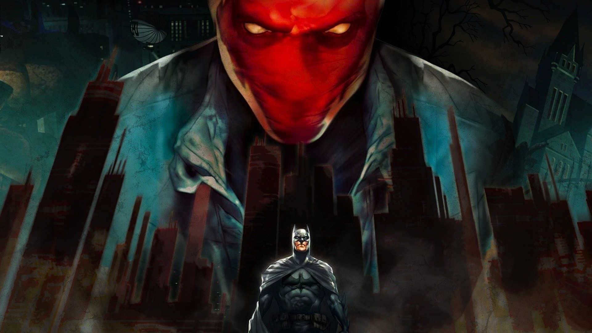 Nice wallpapers Batman: Under The Red Hood 1920x1080px