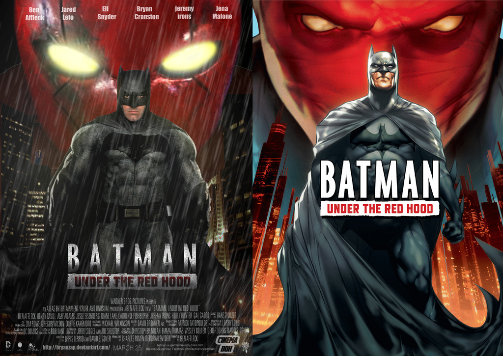 HD Quality Wallpaper | Collection: Movie, 1024x725 Batman: Under The Red Hood