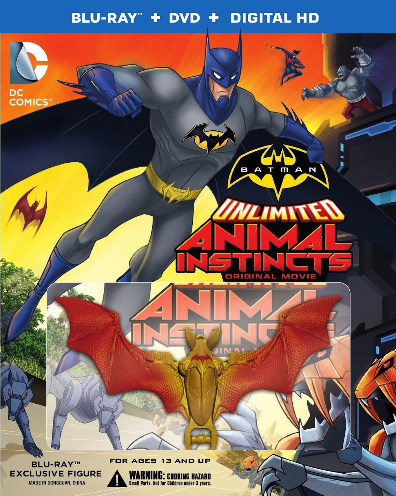 High Resolution Wallpaper | Batman Unlimited: Animal Instincts 1367x1708 px