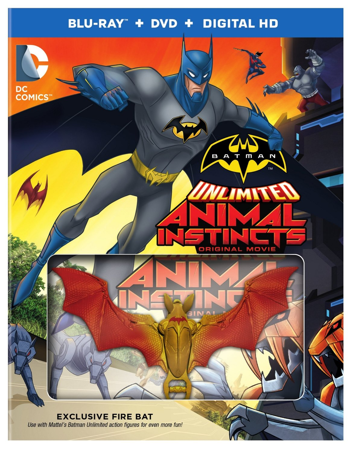 1190x1500 > Batman Unlimited: Animal Instincts Wallpapers