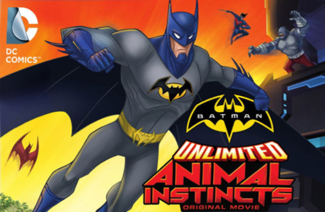 Nice wallpapers Batman Unlimited: Animal Instincts 658x429px
