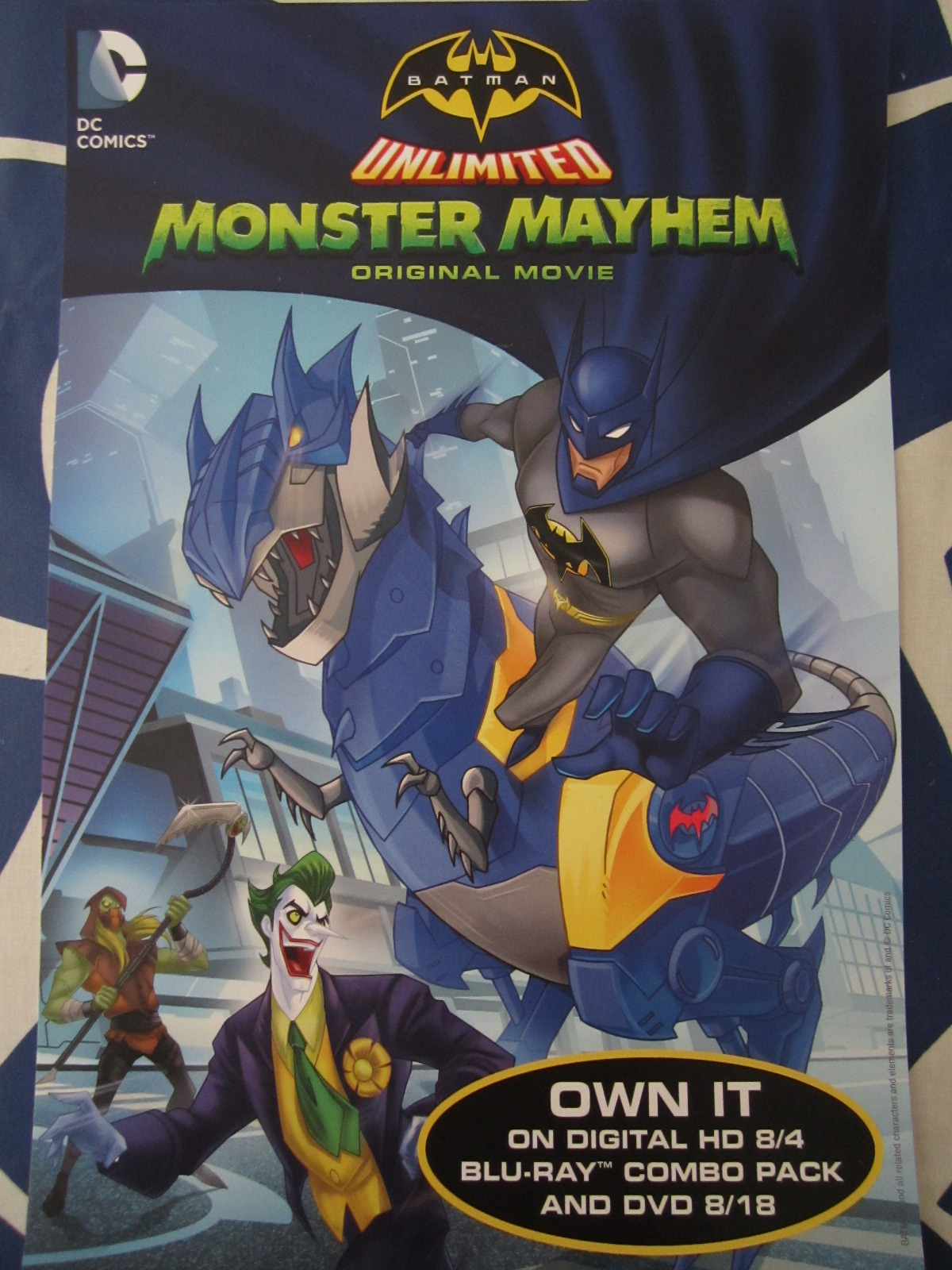 High Resolution Wallpaper | Batman Unlimited: Monster Mayhem 1200x1600 px