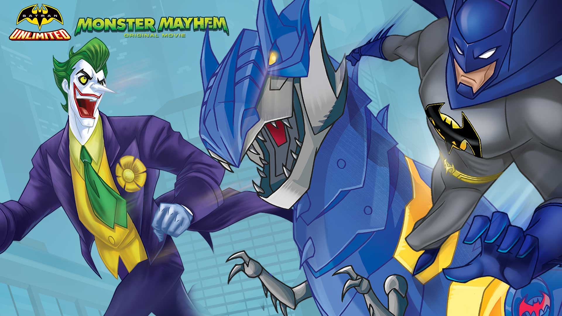 High Resolution Wallpaper | Batman Unlimited: Monster Mayhem 1920x1080 px