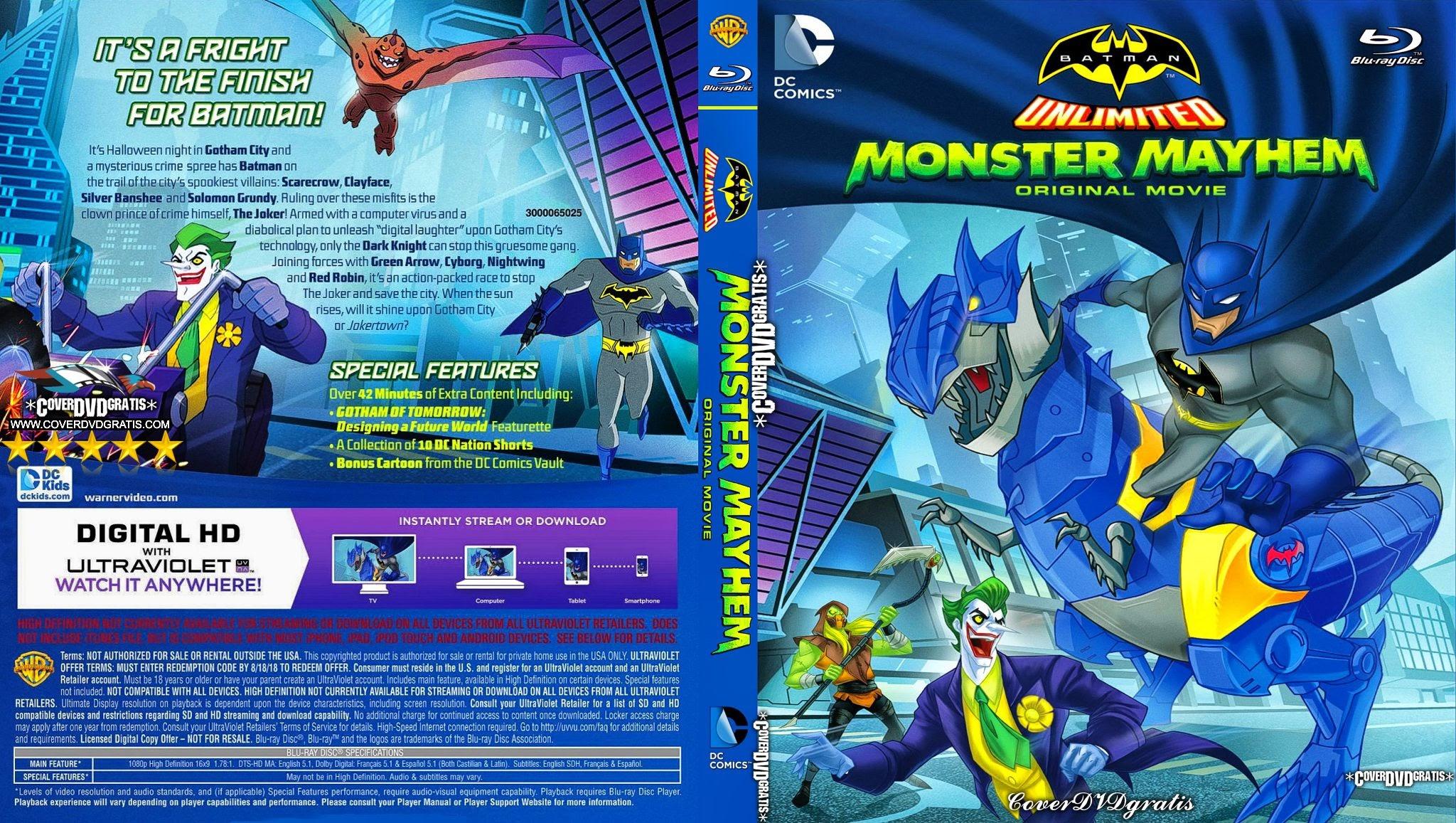 Batman Unlimited: Monster Mayhem Backgrounds, Compatible - PC, Mobile, Gadgets| 2048x1157 px